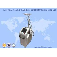 808nm Fiber Coupled Permanent Hair Removal Machine 360w Power 1 Year Warranty Manufactures