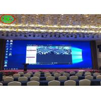 China P2.5 - P6 Indoor LED Display Board 3500K - 9500K Adjustable Color Temperature on sale