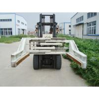 Reliable Clamping Forklift Truck Attachments Carbon Steel Block Clamps With Arm Length 1200mm Manufactures