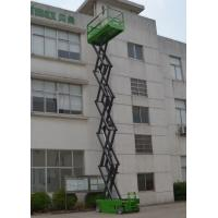 Lift capacity 320kg Self Propelled Scissor lift platform for max 12m working height Manufactures