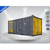 Electronic Starting Genset Silent Generator Set , Three Phase Diesel Generator Manufactures