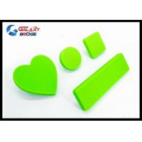 Rubber Kids Furniture Knobs Silicon Cupboard Green Knobs Soft Plastic Pink Heart Cabinet Knobs Manufactures