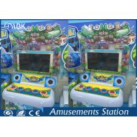 Crazy Crocodile Car Racing Machine For Kids Indoor D1750 * W900 * H1350 MM Manufactures