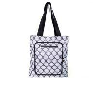 Personalized Custom Grocery Tote Bags with Zipper Closure Outside Pocket Manufactures