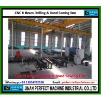 China CNC H Beam Drilling and Band Sawing Production Line Structural Steel Machines Factory (Model SWZ1250)