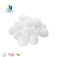 700g Pool Filter Balls Water Treatment Reusable Renewable Eco Friendly Polyester Filters Balls Manufactures
