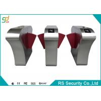 Subway Gate Security Automatic Turnstiles Indoor Flap Barrier Speed Gate Manufactures