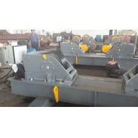 100T Tank Hydraulic Bending Machine Pipe Welding Rollers Rubber / 2 Metal Wheels Manufactures