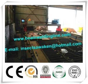 CNC plasma flame cutting machine , CNC laser cutting machine for steel plate Manufactures