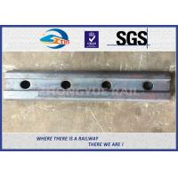 4 Hole BS80A Railway Fish Plate Fishplate Railroad Fish Plate with Material 50# Manufactures