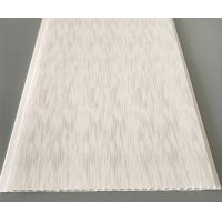Professional Hot Stamping Pvc Panels Ceiling / Kitchen Ceiling Cladding Panels Manufactures
