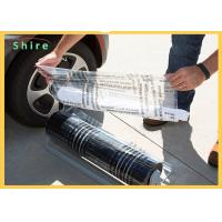 Break Point Adhesive PE Protection Film For Auto Carpet Easy Peel Off Manufactures