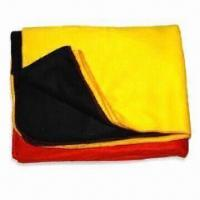Polar Fleece Blankets with Lock Stitched Edges, Available in Various Colors Manufactures
