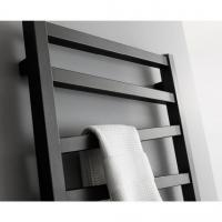 Quality SAA Stainless Steel round Bathroom Electric Heated Towel Rack Rail Warmer matte for sale