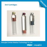 1.8ml , 2ml , 3ml Glass Insulin Pen Cartridge With CFDA / CE Certificate Manufactures