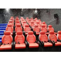 Interactive 7D Movie Theater / 5D Motion Cinema Motion Seat Theater Simulator Amazing Manufactures