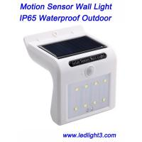 Solar Lights 8 LED Wireless Waterproof Motion Sensor Outdoor Light for Patio, Deck, Yard, Garden Manufactures