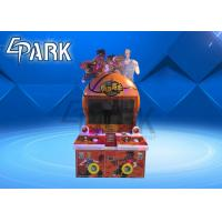 Kids Coin Operated Simulator Basketball Shooting Machine For 2 Player Manufactures