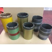 T2 And T6 Metric Diamond Core Drilling Tools Diamond Tip Core Drill Bit Antirust Manufactures