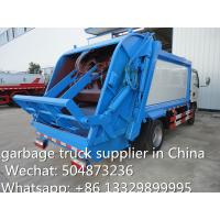 hot sale small garbage compactor truck, 4cbm dongfeng refuse garbage truck, garbage truck Manufactures