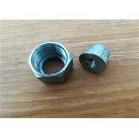 China Turning Milling Machined Metal Parts / Cnc Metal Lathe Machine Parts OEM on sale