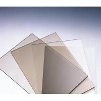 Quality Anti Scratch Polycarbonate Solid Sheet / Pc Solid Sheet  For Commercial Streets for sale