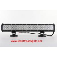 20 inches 12V water proof IP67 126W off road LED light bar,led lights for trucks Manufactures