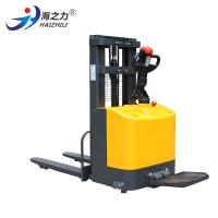 China Well Operated Electric Pallet Stacker Battery Powered With Reliable Braking System on sale