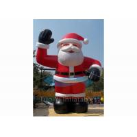 Popular Giant Advertising Balloons Santa Claus Helium Ballon For Decoration Manufactures