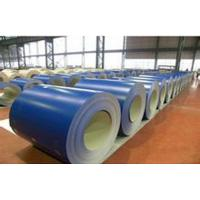 Quality Buildings Roofing Systems Prepainted Galvalume Steel Coil Blue For Steel Tiles for sale