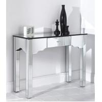 High Gloss Mirror Furniture Set Contemporary Venetian Mirrored Console Table Manufactures