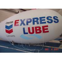 Customized Logo Inflatable Advertising Blimp Shaped Balloons Heat Sealing Manufactures