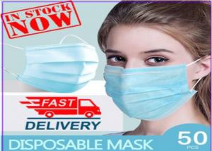 ISO13485 BFE PFE VFE 95 Disposable Non Woven Face Mask Manufactures