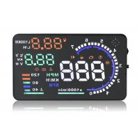 Quality A8 5.5 Inch Hud Head Up Display , Working Voltage 12V Dc Portable Heads Up for sale
