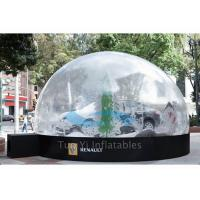 Quality Outdoor Giant Bubble Tent Night Car Cover / Inflatable Bubble Dome for Car Show for sale