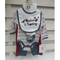 Organic Cotton Newborn Baby Clothes Set Fashionable Design Baby Fair Trade Clothing Manufactures