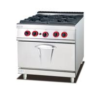 Gas Oven Western Kitchen Equipment 800*900*940mm 4 Burner Gas Stove Manufactures
