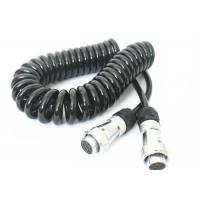TPU Jacket Retractable Coil Cord For Truck Trailer Power Signal Transmission Manufactures