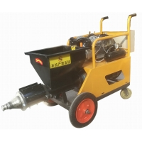Small Wall Spray Gun Mortar Cement Spraying Machine For Wall Plastering Manufactures