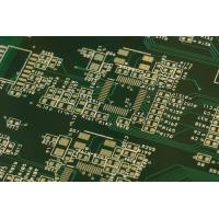 Buy cheap HDI Rigid Multilayer PCB FR4 Material Immersion Gold Surface Finish Green Solder from wholesalers