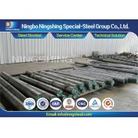 China High Toughness DIN 1.2767 Round Steel Bar Air / Oil Hardening Tool Steel on sale
