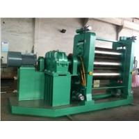 Customizable Dimension PVC Calendering Machine , Plastic PVC Sheet Extrusion Machine Manufactures
