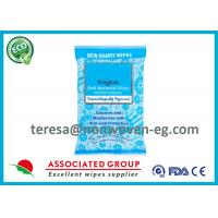 Hygienic Sanitizing Hand Wipes Individually Wrapped Dermatologically Approved Manufactures