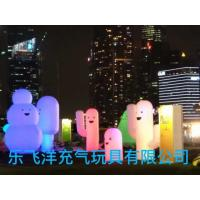 Inflatable Light Pillars Inflatable Cartoon With Light For  Festival Activities Promote Manufactures