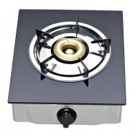 Table Top Single Burner Gas Stove With Tempered Glass Panel For Kitchen Manufactures