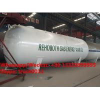 2018s best price 45m3 surface propane gas storage tanks, bulk lpg gas storage tank customized for Lagos, Nigeria Manufactures