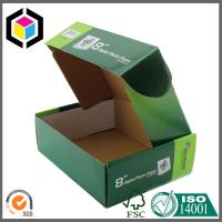 Tap Lock Tuck Top Box Color Printing Corrugated Paper Cardboard Shipping Box Manufactures