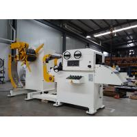Quality Frequency Changer Control Uncoiling Automatic Straightening Machine With Pressing Arm for sale