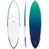 "9'6"" Fiberglass Blow Up Surfboard 168L Volume High Speed Long Distance Cruising Manufactures"