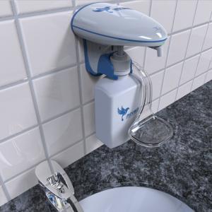 Customized Liquid / Foam Commercial Hand Soap Dispenser 600ml Exclusive Bottle